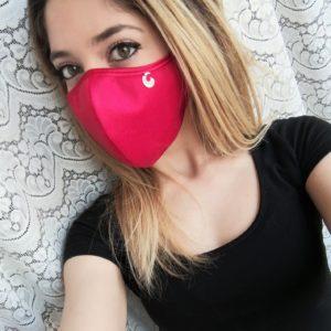 mascherina in seta